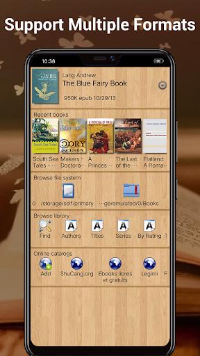 EBook Reader & Free ePub Books android2mod screenshots 1