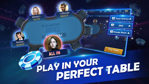 APG-Texas Holdem Poker Game android2mod screenshots 4