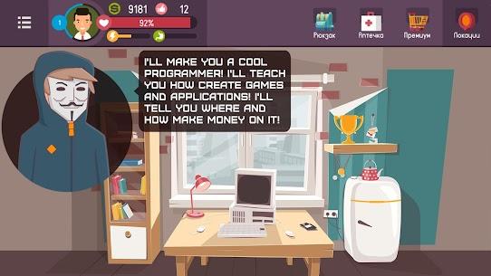 Hacker – Tap Smartphone Tycoon, Life Simulator Mod Apk 2.1.2 (Endless Money) 1