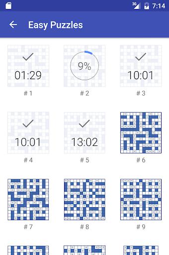 Codeword Puzzles (Crosswords)  screenshots 4