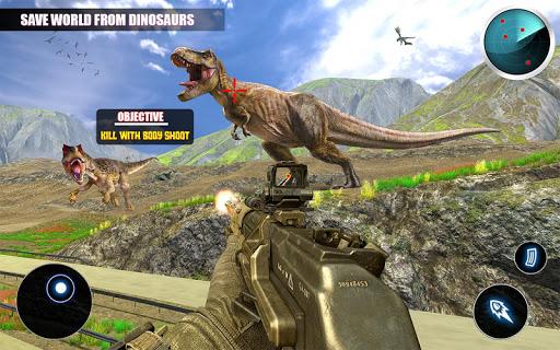 Dino Hunting 3d - Animal Sniper Shooting 2020 apklade screenshots 2