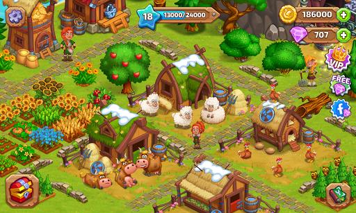 ud83cudf40 North Dragon Island - build Vikings Farm ud83cudf40 apkpoly screenshots 6