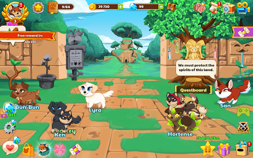 Dungeon Dogs - Idle RPG 1.3 screenshots 7