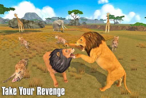 The Lion Simulator: Animal Family Game apktram screenshots 12