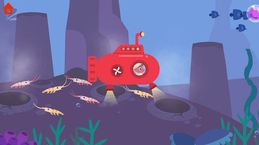 Dinosaur Submarine: Games for kids & toddlers 1.0.5 screenshots 2