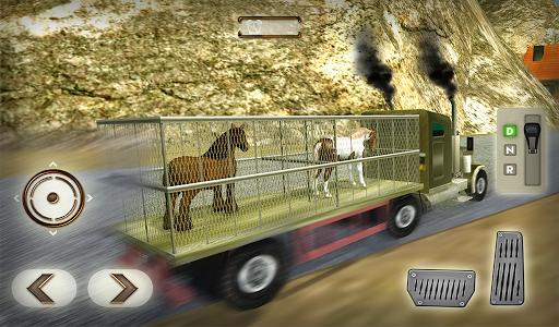 Wild Horse Zoo Transport Truck Simulator Game 2018 1.8 screenshots 7