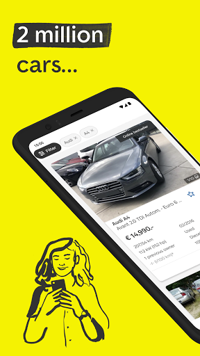 AutoScout24: Buy & sell cars screenshots 1