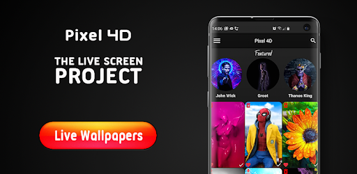 Pixel 4D Live Wallpapers 4K, Backgrounds 3D/HD - Apps on ...