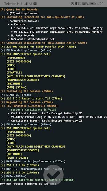 Captura 8 de sysAdmin ToolBox para android