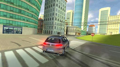 golf drift simulator screenshot 3