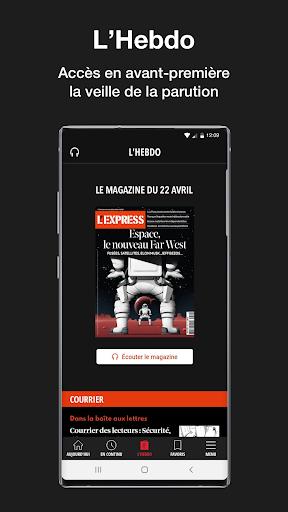 L'Express I Actualités, Infos, France, Monde  screenshots 5