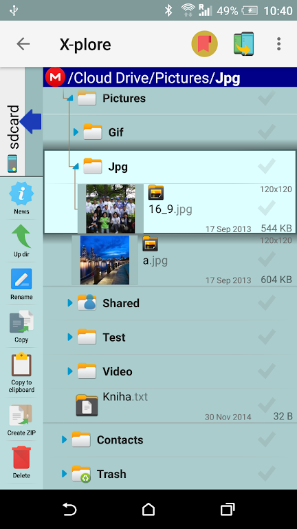 X-plore File Manager poster 7