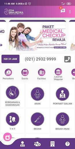 RSIA Bina Medika Bintaro  screenshots 1