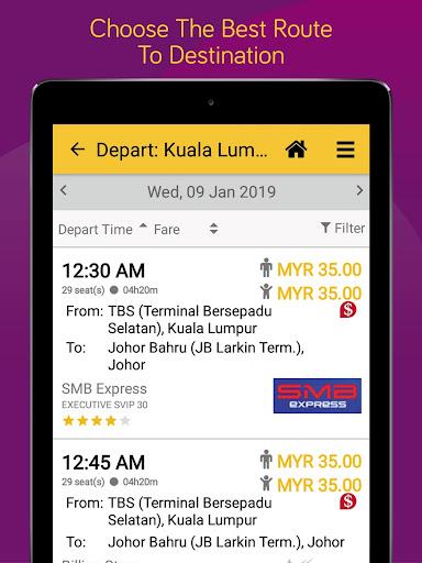 Easybook - Bus, Train, Ferry, Flight & Car Rental  Screenshots 13