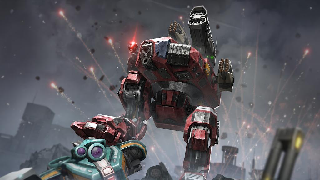 Robot Warfare: Mech Battle 3D PvP FPS  poster 13
