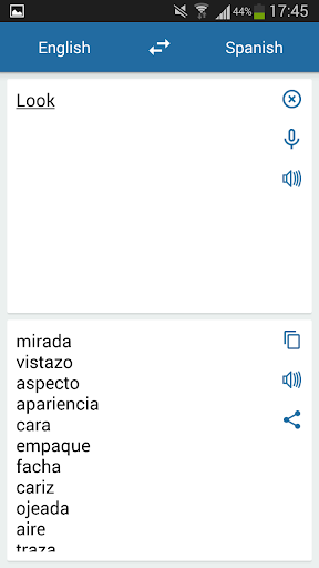 Spanish English Translator  Screenshots 1