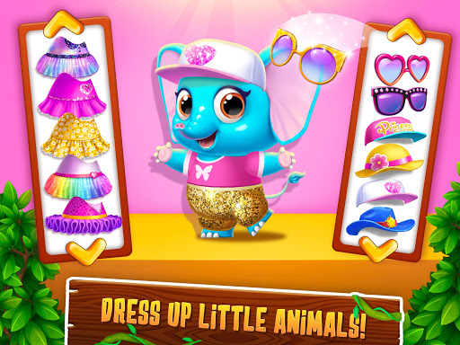 Panda Lu Treehouse - Build & Play with Tiny Pets  Screenshots 22