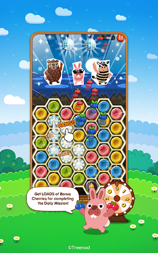 LINE Pokopang - POKOTA's puzzle swiping game! 7.0.0 screenshots 2