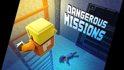 Télécharger Alcatraz Pixel Prison Heist Gangster Escape Room APK MOD (Astuce) screenshots 2