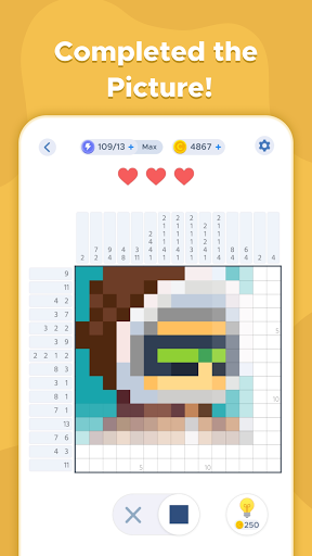 Nonogram - Picture Sudoku Puzzle apkpoly screenshots 11