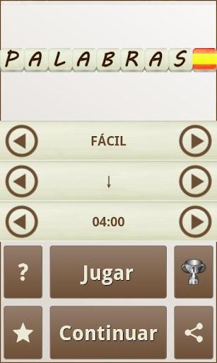PALABRAS - Juego de Palabras en Espau00f1ol android2mod screenshots 6