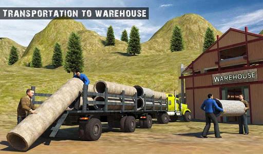 USA Truck Driving School: Off-road Transport Games  screenshots 11