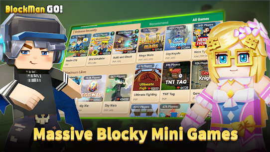 Blockman Go 1.31.4 MOD APK [UNLIMITED MONEY] 2