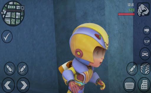 Subway Vir The Robot Boy Skateboard - Endless Rush apkpoly screenshots 3