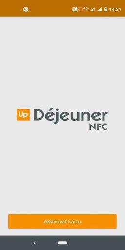 Up Du00e9jeuner NFC 2.0.1 screenshots 1