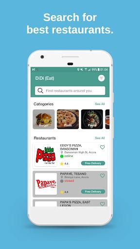 DiDi (Eat) - Local Food Delivery 1.11.0 Screenshots 1