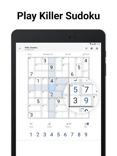 Killer Sudoku by Sudoku.com - Free Number Puzzle 1.0.0 screenshots 9