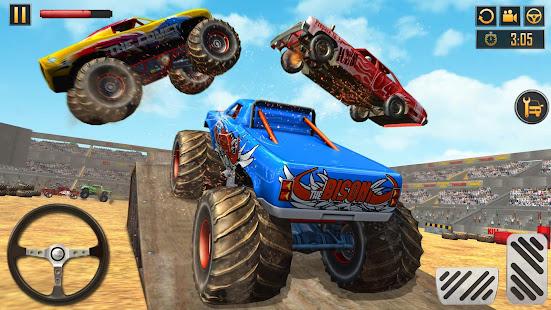 Police Demolition Derby Monster Truck Crash Games 3.3 APK screenshots 8