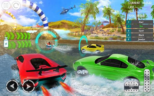 water car stunt racing 2019: 3d cars stunt games screenshot 2