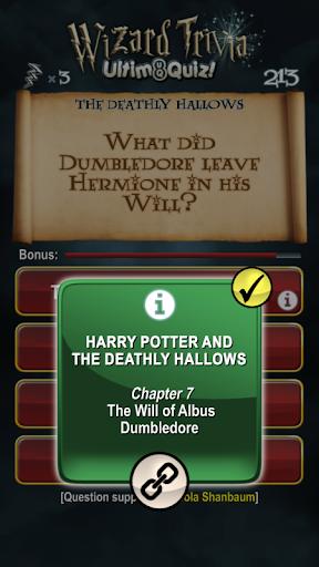 Harry Potter Wizard Quiz: U8Q 2.0.1 Screenshots 4