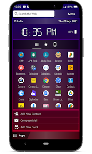 Chroma Launcher For Android 4