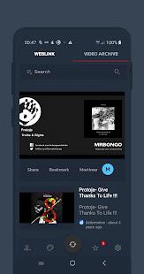 Weblink 603 screenshots 3