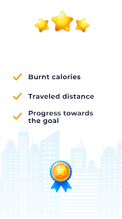 Pedometer Pacer - Step Counter & Calorie Counter Screenshot
