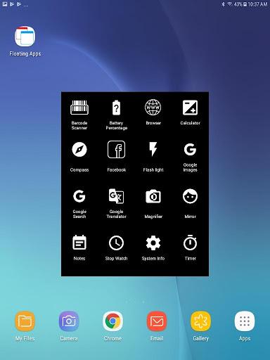 Floating apps - Multitasking 1.11 Screenshots 10