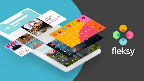 Fleksy GIF keyboard - Free Emoji-keyboard & GIPHY Screenshot