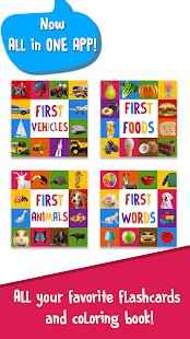 First Words Baby Games: Toddler Learning Games