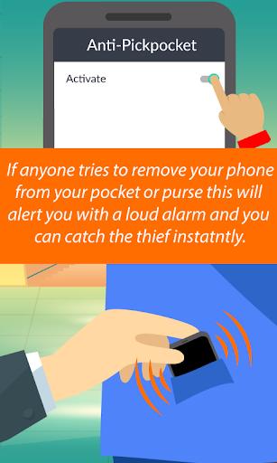 Phone Anti-Theft Alarm screenshots 2