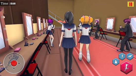 Image For Anime School Life 3D: Virtual Japanese High School Versi 1.0 5