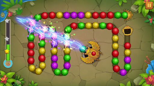 Jungle Marble Blast Lite screenshots 12
