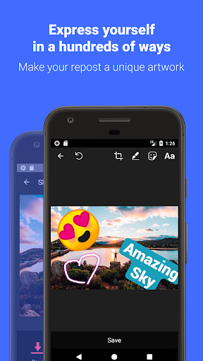 Reposter for Instagram: Download & Save 3.9.7 screenshots 2