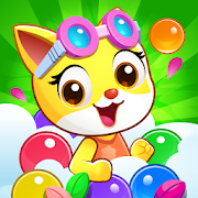 Cat poptime: Bubble Story
