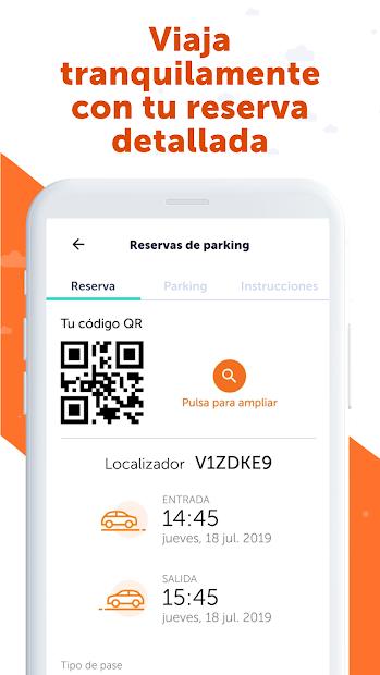 Screenshot 4 de Parquimetro Madrid, Barcelona y Parking: Parclick para android