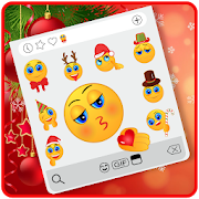 Happy Jolly Christmas Emoji Stickers
