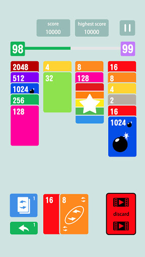 Solitaire 2048 Cards 1.0.3 screenshots 1