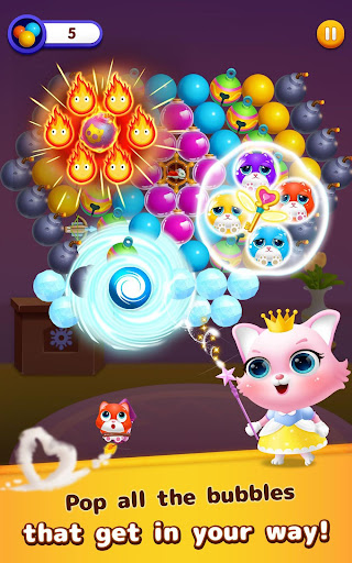 Bubble Shooter: Cat Island Mania 2020 apktram screenshots 13