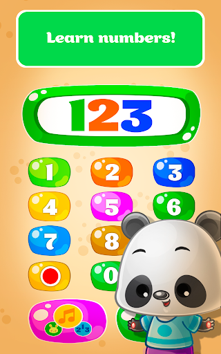 Babyphone - baby music games with Animals, Numbers 1.9.11 Screenshots 3